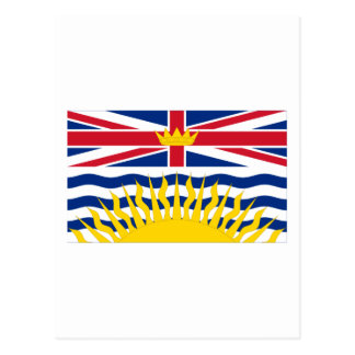 Flag of British Columbia, Canada Post Cards