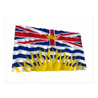 Flag of British Columbia, Canada Postcard