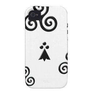 flag of Brittany Vibe iPhone 4 Case