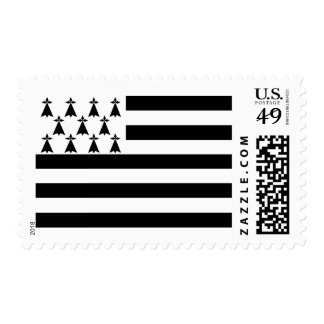 Flag of Brittany Postage Stamps
