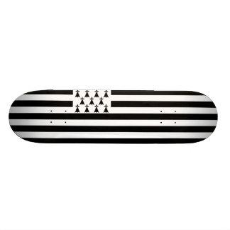 Flag of Brittany Skateboard Deck