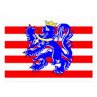 Flag of Bruges Postcard