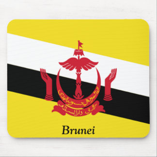 Flag of Brunei Mouse Pads
