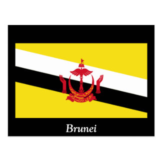 Flag of Brunei Post Card