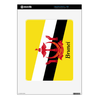 Flag of Brunei Skin For The iPad