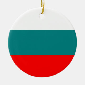 Flag of Bulgaria Ceramic Ornament