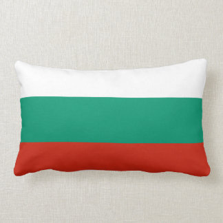 Flag of Bulgaria or Bulgarian Lumbar Pillow