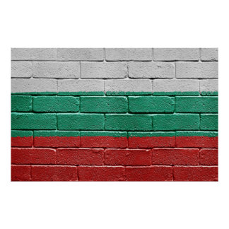 Flag of Bulgaria Poster