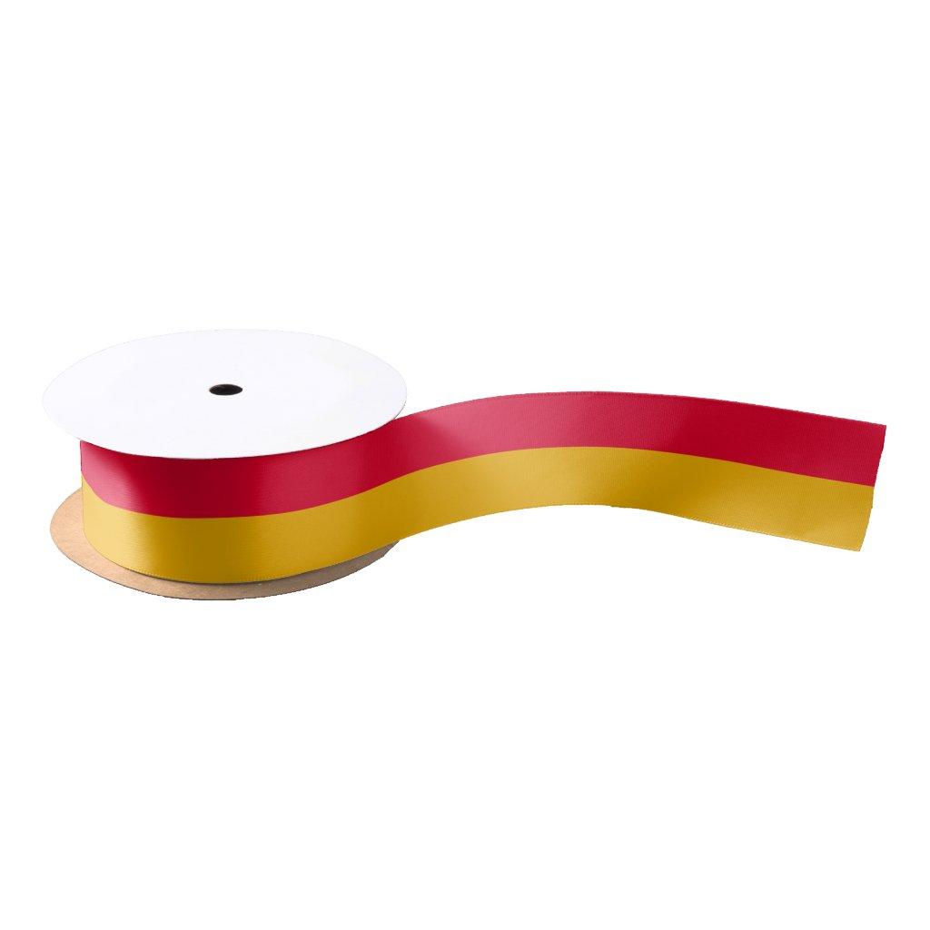 Flag of Burgenland Satin Ribbon