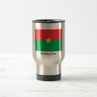 Flag of Burkina Faso 15 Oz Stainless Steel Travel Mug