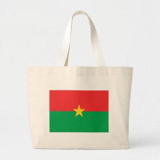 Flag of Burkina Faso Canvas Bags