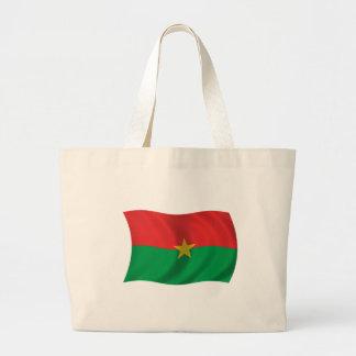 Flag of Burkina Faso Canvas Bag