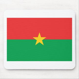 Flag of Burkina Faso - Drapeau du Burkina Faso Mouse Pad