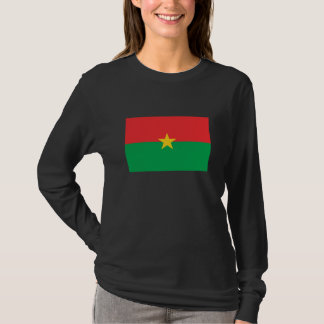 Flag of Burkina Faso T-Shirt for Women.
