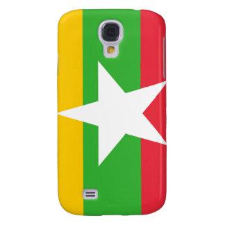 Flag of Burma Samsung Galaxy S4 Case