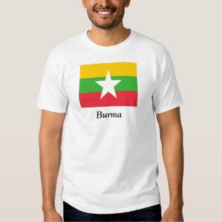 Flag of Burma T Shirt