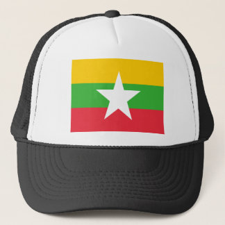 Flag of Burma Trucker Hat