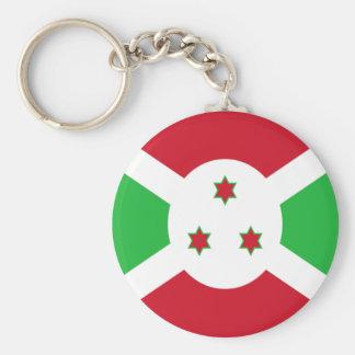 Flag of Burundi Basic Round Button Keychain