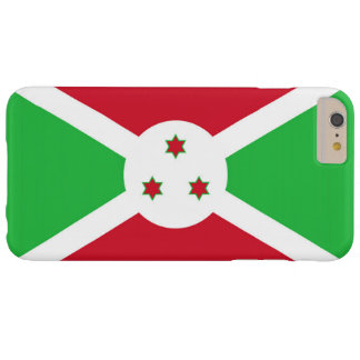 Flag of Burundi Barely There iPhone 6 Plus Case
