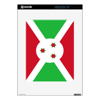 Flag of Burundi iPad Skin