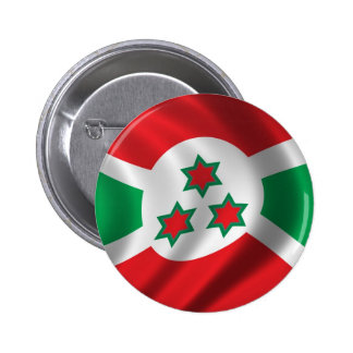 Flag of Burundi Pinback Button