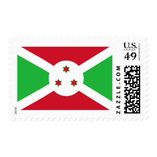 Flag of Burundi Postage Stamps