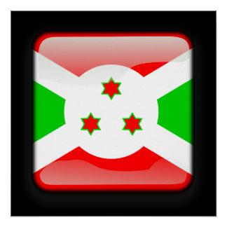 Flag of Burundi Poster