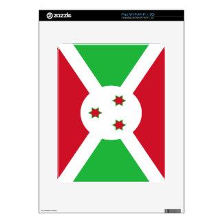 Flag of Burundi iPad Skin