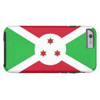 Flag of Burundi Tough iPhone 6 Case