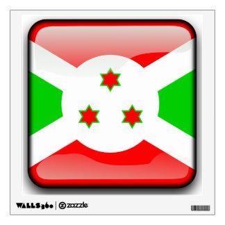Flag of Burundi Wall Decal