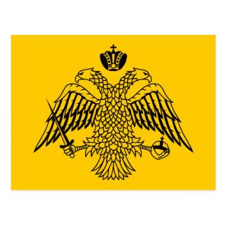 Flag of Byzantine Postcard