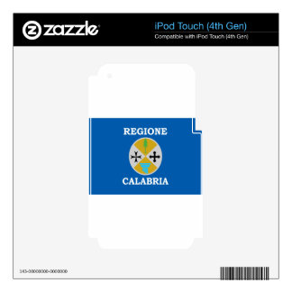 Flag_of_Calabria iPod Touch 4G Decals