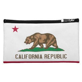 Flag of California Cosmetics Bags