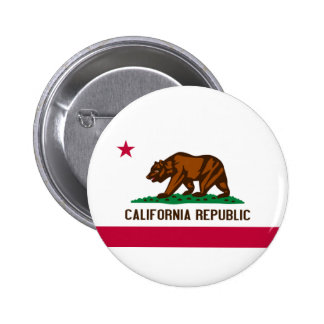 Flag of California Buttons