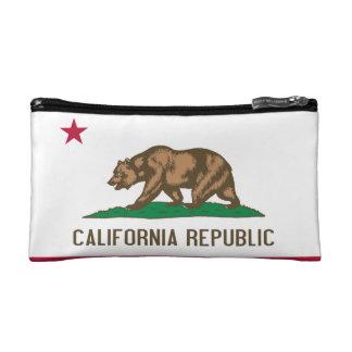 Flag of California Cosmetic Bag