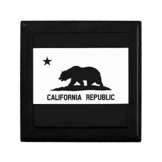 Flag of California Jewelry Box