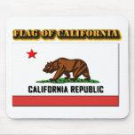 Flag of California Mousepads