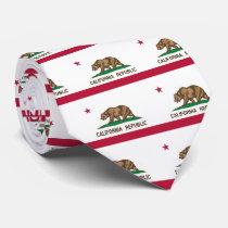 Flag of California Neck Tie