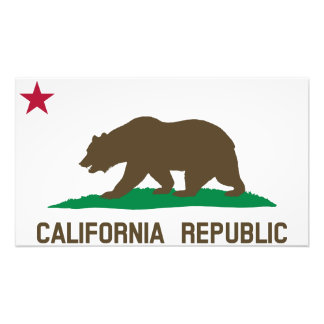 Flag of California Photograph