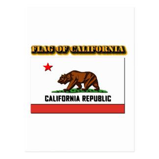 Flag of California Postcards