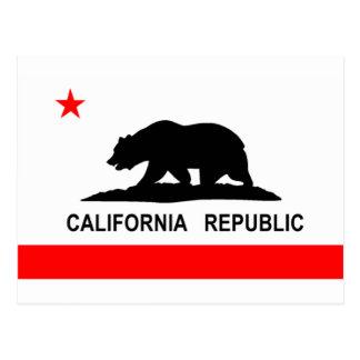 Flag of California Postcard