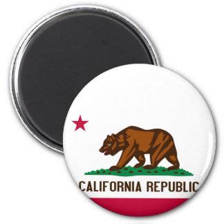 Flag of California Refrigerator Magnet