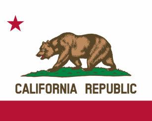 Flag Of California Republic Reusable Grocery Bag