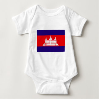 Flag of Cambodia Baby Bodysuit