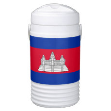 Flag of Cambodia Beverage Cooler