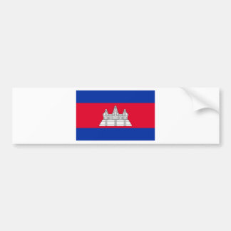 Flag of Cambodia - Cambodian Flag Bumper Sticker