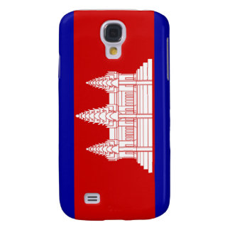 Flag of Cambodia Galaxy S4 Covers
