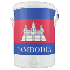 Flag of Cambodia Cooler