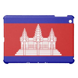 Flag of Cambodia iPad Mini Cases