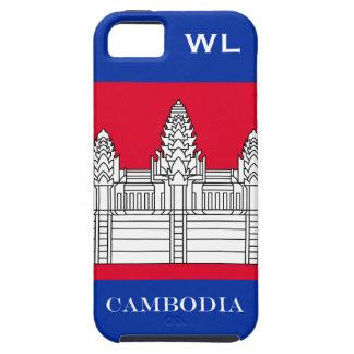 Flag of Cambodia iPhone SE/5/5s Case